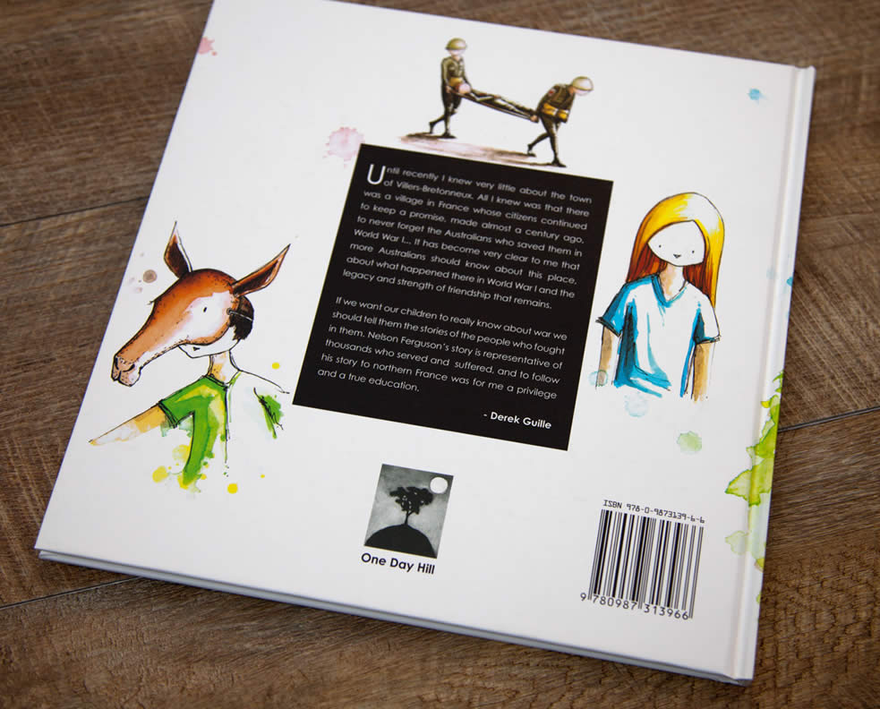 The Promise - Back Cover