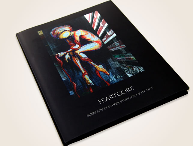 Heartcore Book Design Red Bilby