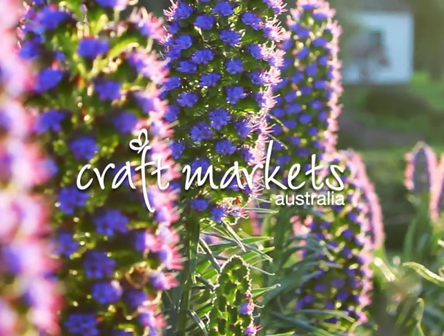 Craft Markets Australia - Red Hill Market Promo