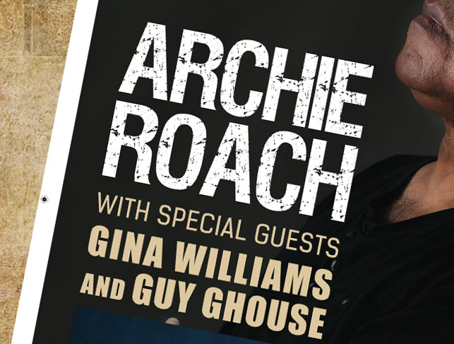 Archie Roach Gig Poster