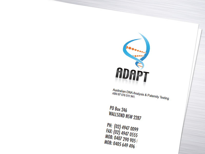 ADAPT DNA Letterhead