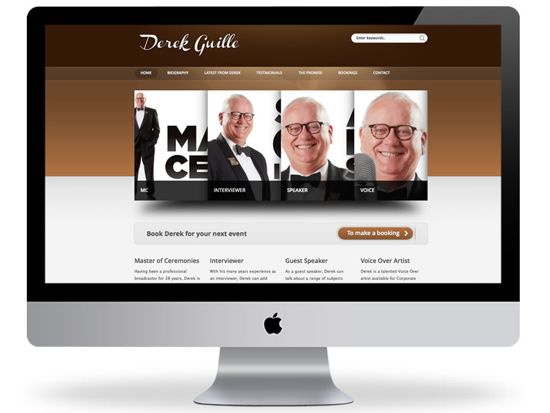 Derek Guille Website