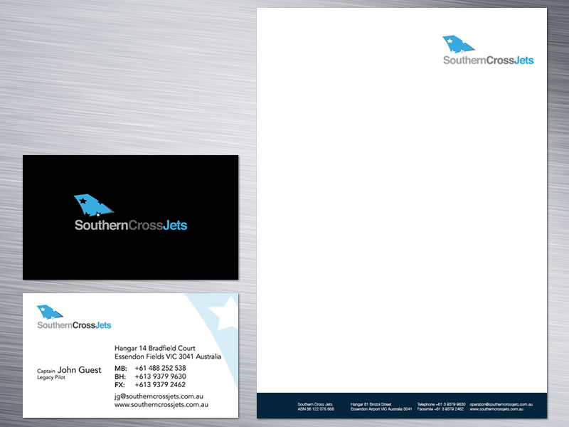Southern Cross Jets Corporate Identity