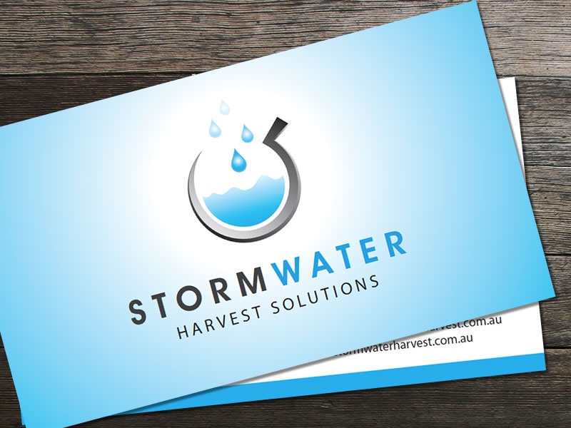 Stormwater Harvest Business Cards