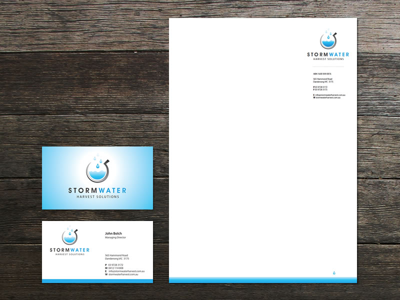 Stormwater Harvest Corporate Identity