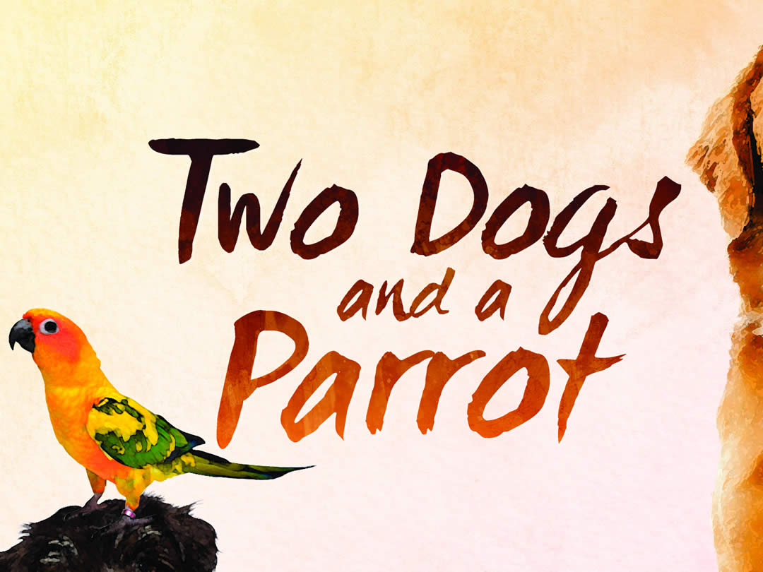 Two Dogs and a Parrot